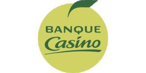 Banque Casino Logo. Spécialiste du crédit à la consommation, financez tous vos projets
