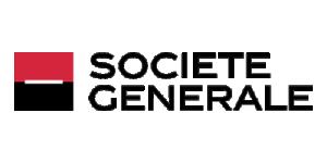 Societe Generale Logo. Développons ensemble l'esprit d'équipe.